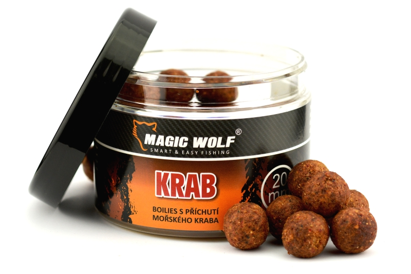20mm  BOILIES SPEED WOLF 250 gr KRAB